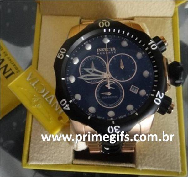 da8d68ab703 Relogio Invicta Venom Reserve 5728 Rosê 53mm frete gratis - Prime Gifs