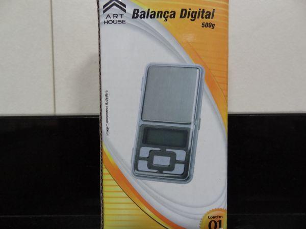 Mini Balança Pocket Digital De Alta Precisão - 1gr até 500gr