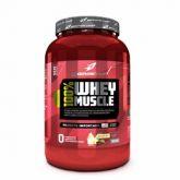 100% Whey Muscle - Morango - 900g - Body Action