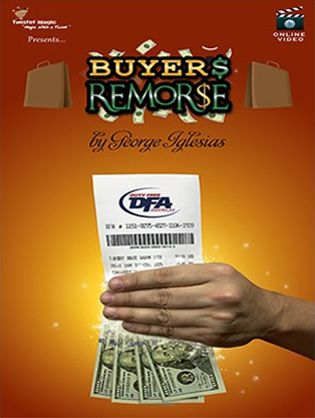 Buyer's Remorse (Gimmicks and Online Instruc)Twister Magic #1489