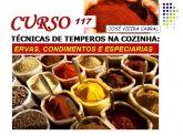 X-117. TÉCNICAS DE TEMPEROS NA COZINHA - ERVAS,CONDIMENTOS E ESPECIARIAS