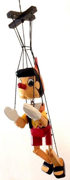 Pinóquio Marionete Articulado Brinquedo