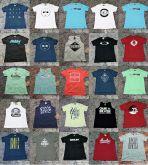 kit 50 pçs Camiseta/ Polo/ Bermuda praia/ jeans/cueca