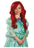 Peruca Ariel Infantil FF3845