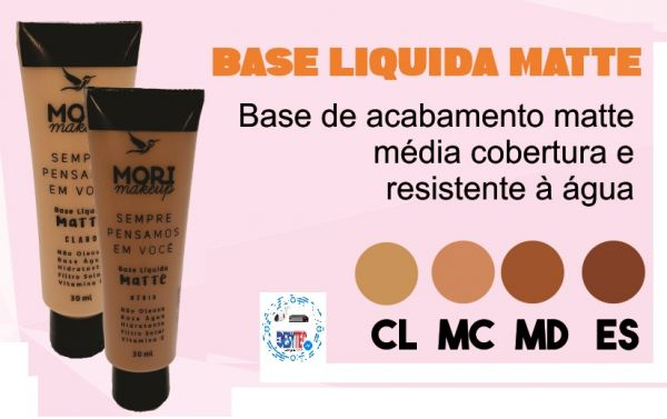 Base Liquida Matte Mori Makeup