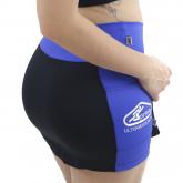 ''Shorts Saia Preso Feminino Running Corrida Bolsos Emana