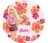Papel Arroz Barbie Redondo 008 1un