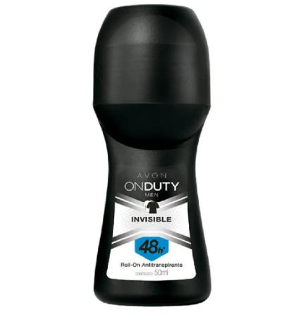 Desodorante antitranspirante Roll-on on Duty men invisible