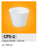 COPO DE ISOPOR CPS2 MEIWA 150 ML