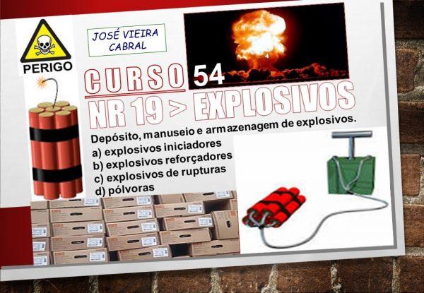 54. NR 19 - EXPLOSIVOS