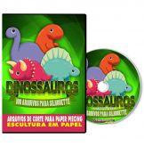 100 Dinossauros para Silhouette
