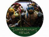 Papel Arroz Tartarugas Ninja Redondo 008 1un