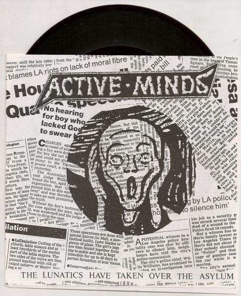 Compacto 7 - Active Minds The Lunatics Have Taken