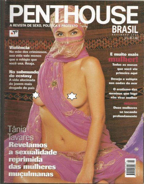PENTHOUSE MAGAZINE BRAZIL  # -  TANIA TAVARES -  NOV 2001 HOT!!