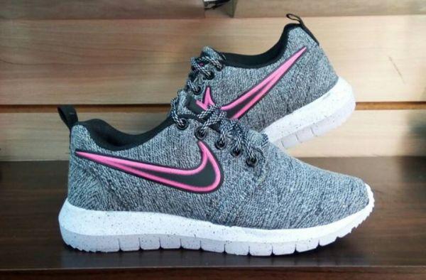 Tênis Nike Voltzz Cinza c  Rosa - Outlet Ser Chic b94499b543878