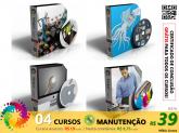 COMBO MANUTENÇÃO  - 04 Cursos Completos + Certificado de Conclusão + FRETE GRÁTIS
