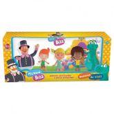 Kit de bonecos em vinil Mundo Bita
