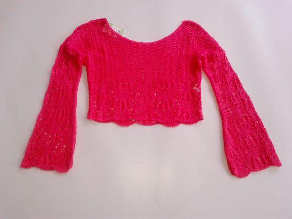 e130d7500d Blusa Cropped Manga Fler Pink - Loja de casarosaef