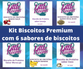 Kit Biscoitos Premium c/6 sabores