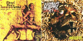 Oxidized Razor/Fecal Body Incorporated – split cd
