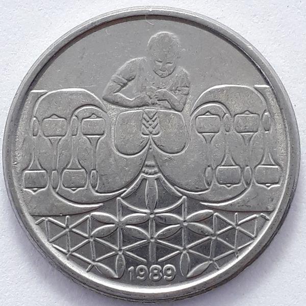 50 Centavos 1989 SOB/FC