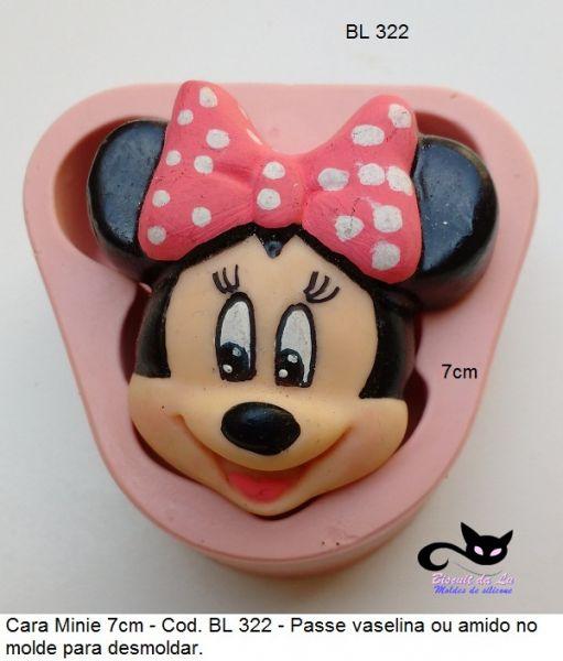 cara gd  Minnie com 7cm