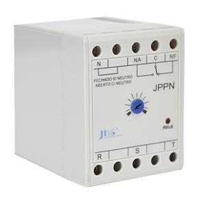 JPPN 220V Relé de Falta de Fase Trifásico com ou sem Neutro