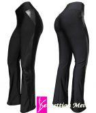 calça preta detalhes cirrê(56/58-60/62), plus size, tecido suplex e cirrê, gramatura 320/360