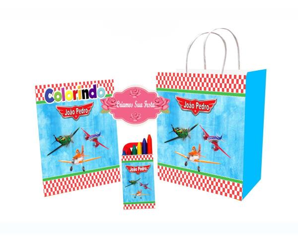 Aviões da disney livrinho de colorir