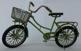 Bicicleta decoração verde
