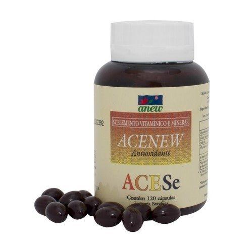 Acenew - 120 Cápsulas - 500 mg
