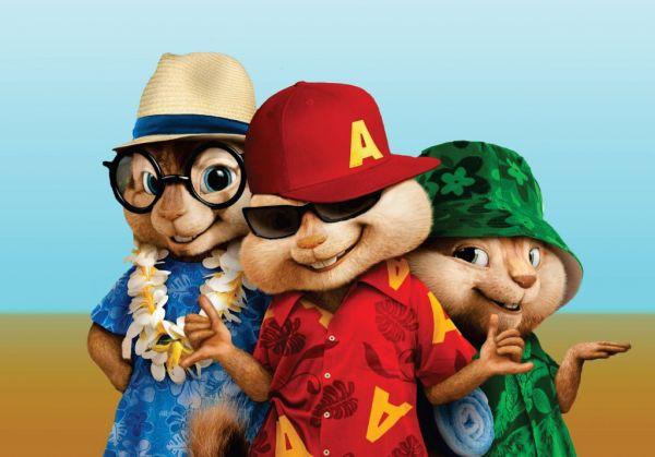 Papel Arroz Alvin e os Esquilos A4 004 1un