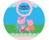 Papel Arroz Peppa Pig Redondo 005 1un