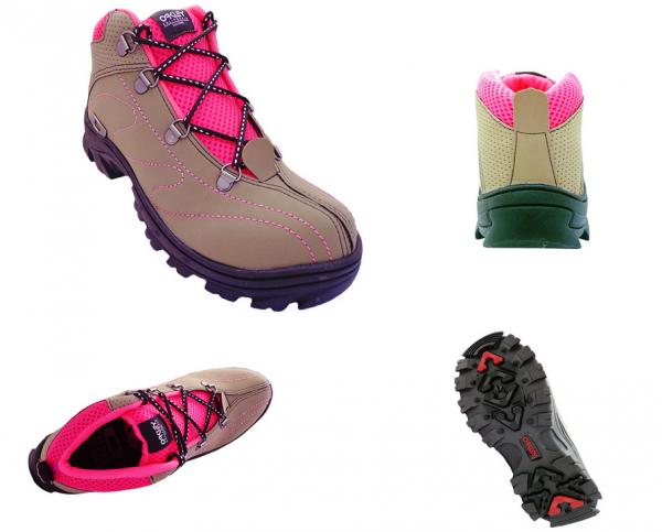 429fa4437f3 Tênis Oakley Adventure Feminino Cano Alto Rato e Pink - JL Calçados