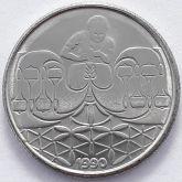50 Centavos 1990 SOB/FC