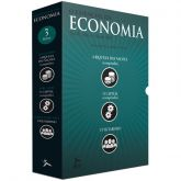 Box  de Livros O Essencial da Economia 3 Volumes