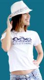 camiseta Mafalda - Uma Atitude Vale Mais Que Mil Palavras