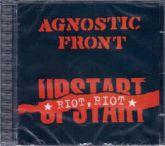 CD - Agnostic Front – Riot, Riot, Upstart