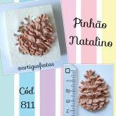 Pinhão Natalino Cód  811