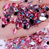 Pedrarias Para Unhas - Mix Modelos Sortidos Pink