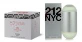 Caixa de Flaconetes - 521 For Woman (Ref. 212 NYC Carolina Herrera) - 10 Unidades (7,5ml Cada)