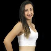Top Nadador de Compressão Liso Branco - Emana