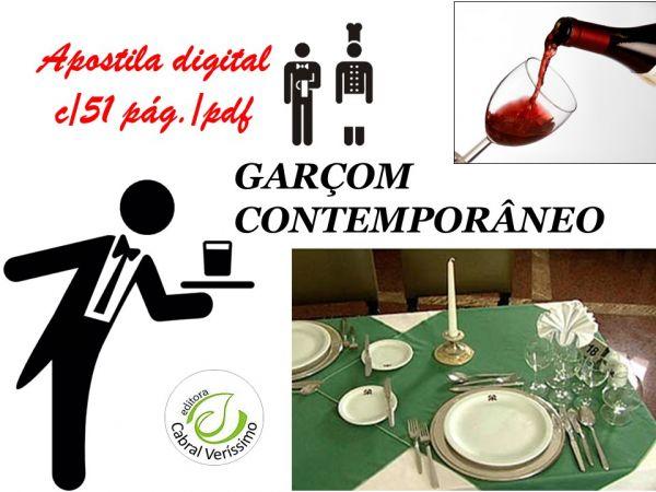 zz  GARÇOM CONTEMPORÂNEO