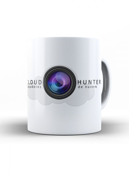 CANECA 1 - LOGOTIPO CLOUD HUNTER