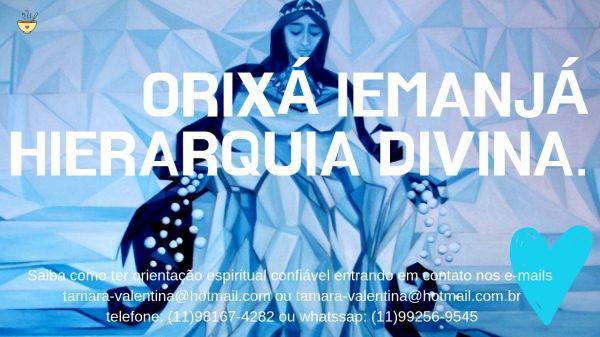E-book ORIXÁ IEMANJÁ -  Hierarquia divina.