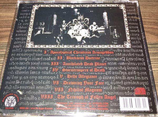 AD BACULUM - LIVE IN BRAZILIAN RITUAL FOURTH ATTACK - CD