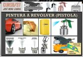 37. PINTURA A REVÓLVER (PISTOLA)