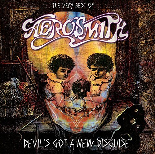 CD - Aerosmith - Devil Got A New Disguise