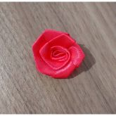 8- Flor de Cetim Rosa (Unidade)