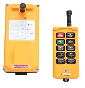 JIC-10 Botoeira sem Fio (Wireless) 10 botões / 8 comandos